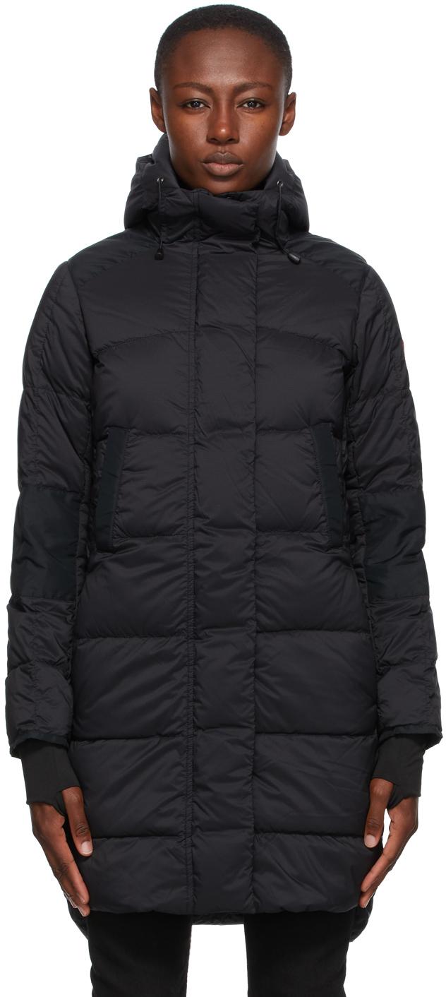 Black Down Alliston Coat