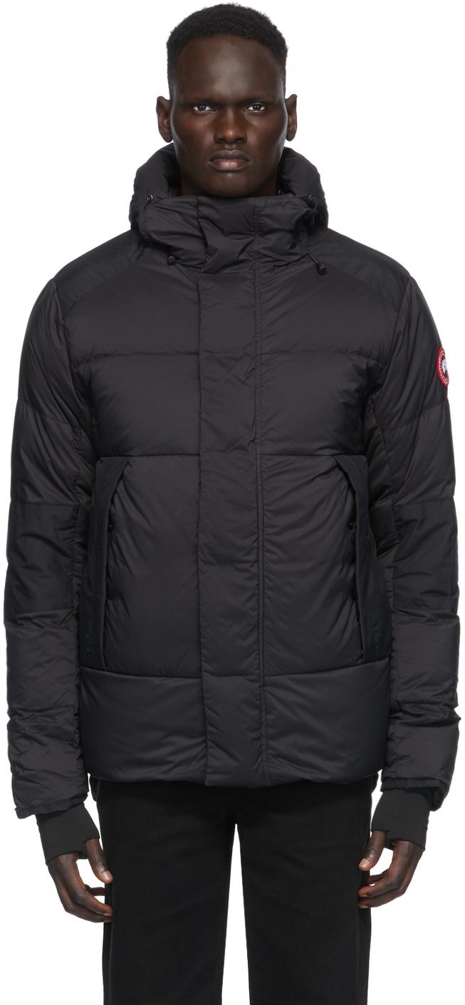 Black Down Armstrong Hoody Jacket