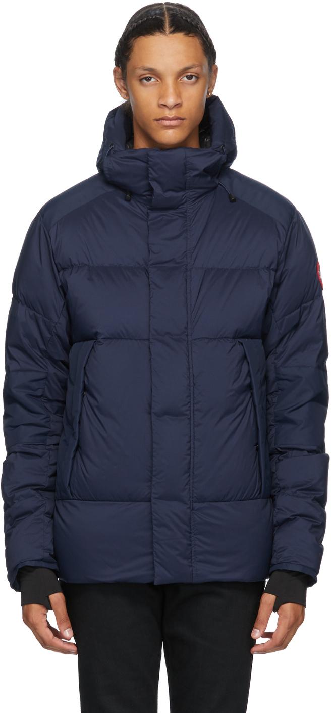 Navy Armstrong Hoody Jacket
