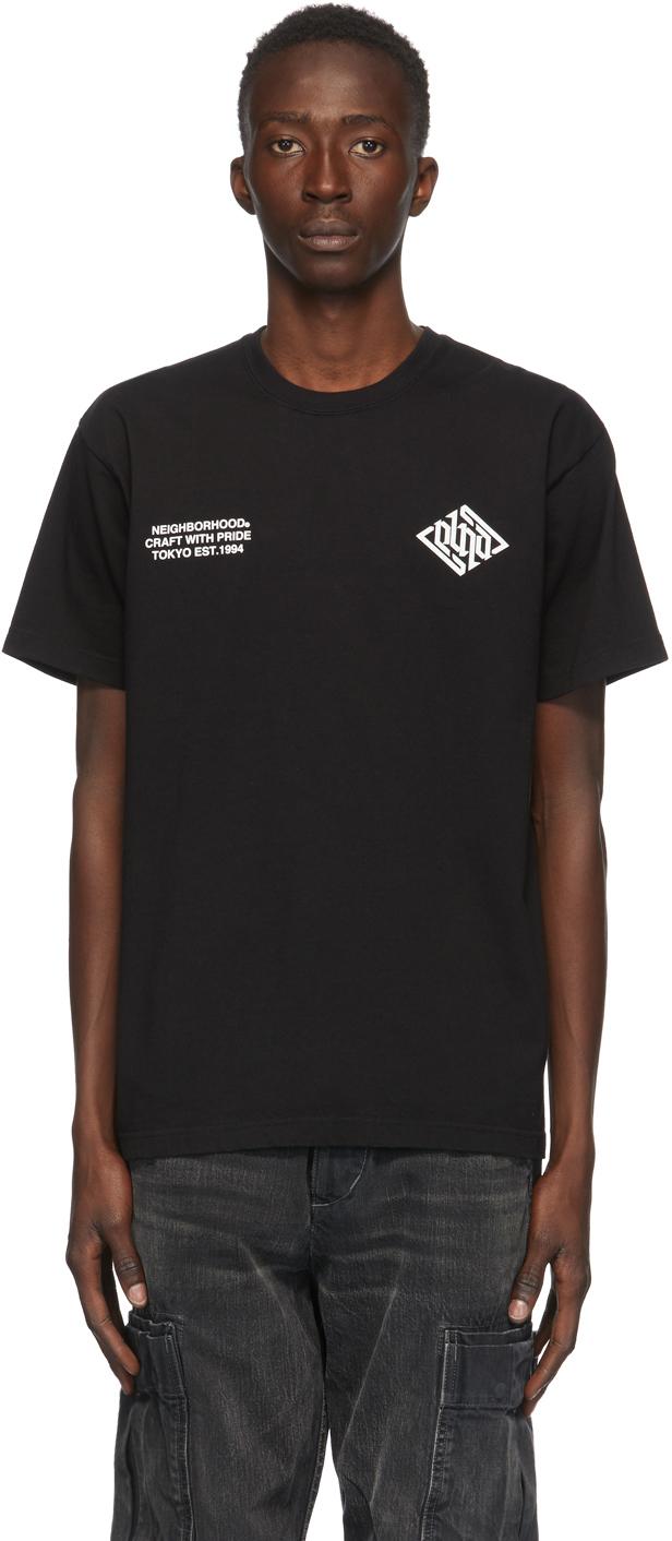 Neighborhood 黑色 Crypt T 恤