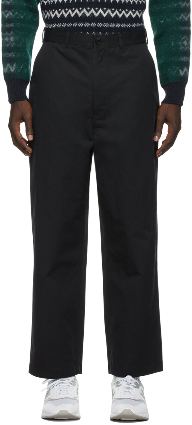 Black Weather Trousers