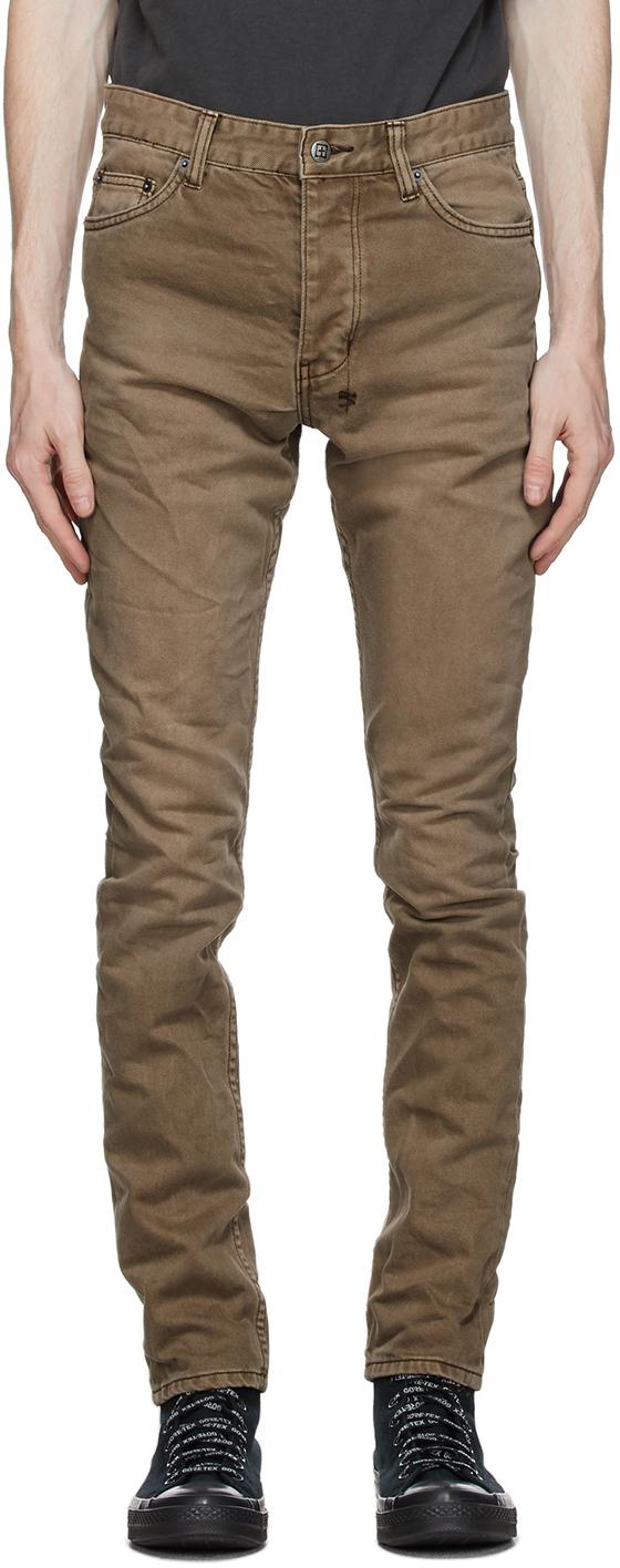 Ksubi 棕色 Chitch 牛仔裤