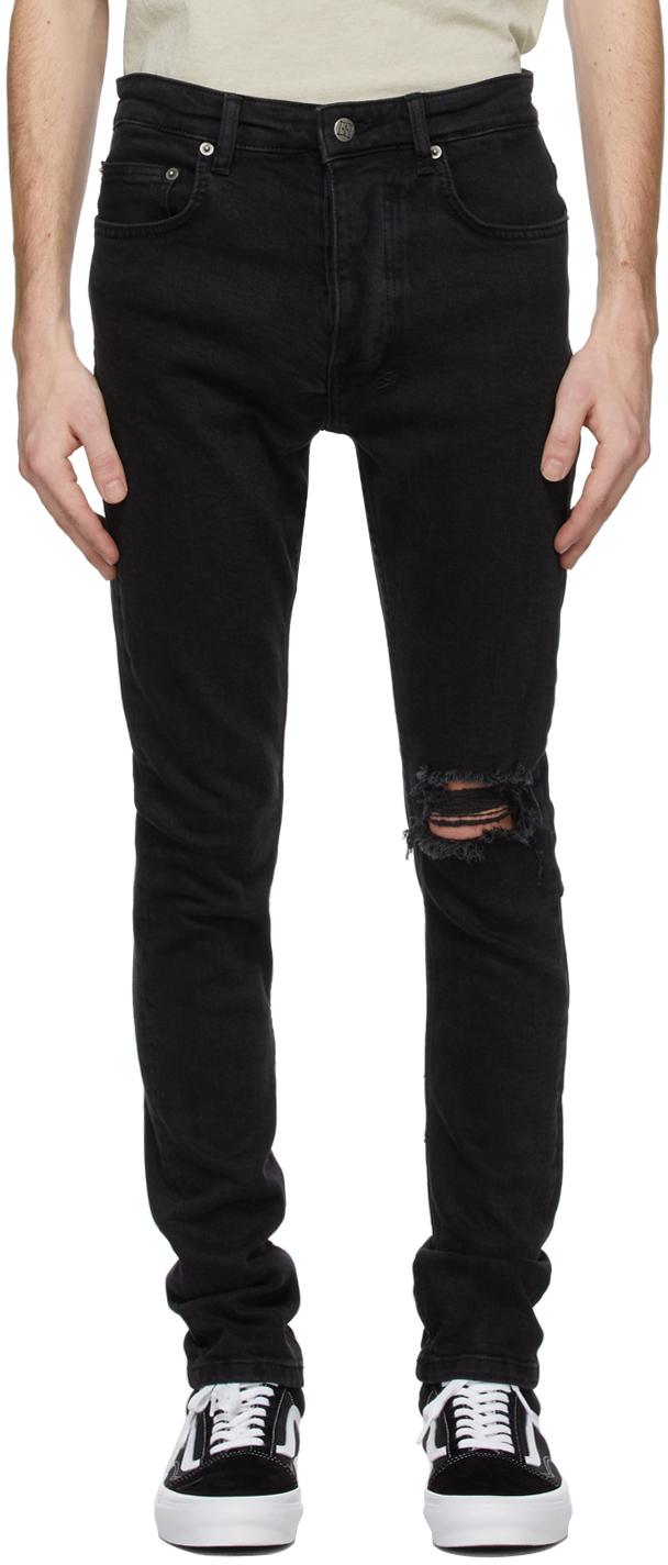 Ksubi 黑色 Chitch Knight Rider 牛仔裤