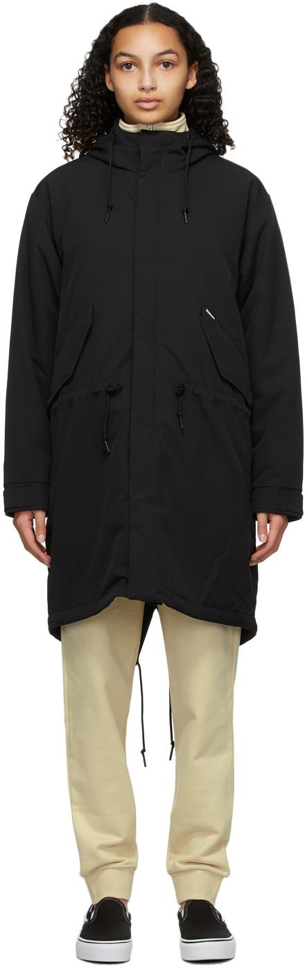 Black Addison Coat
