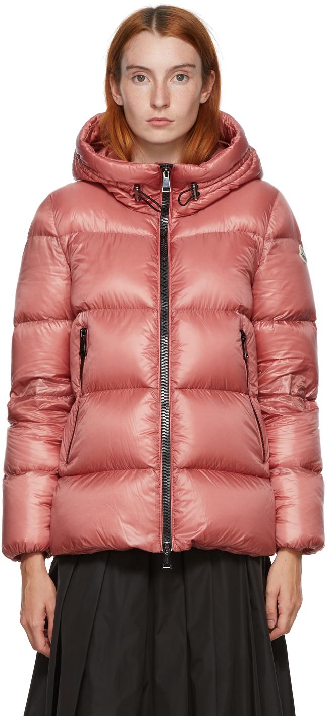 Moncler Pink Down Serrite Jacket