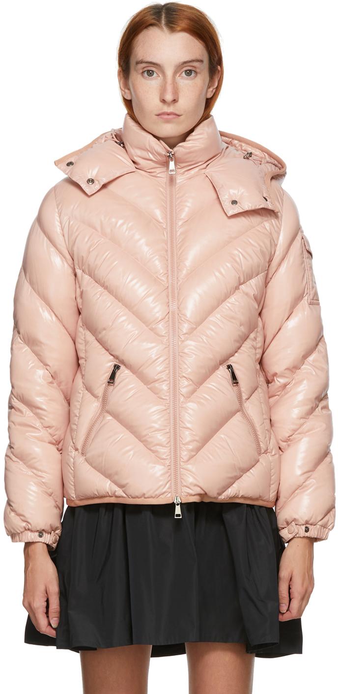 Pink Down Brouel Coat