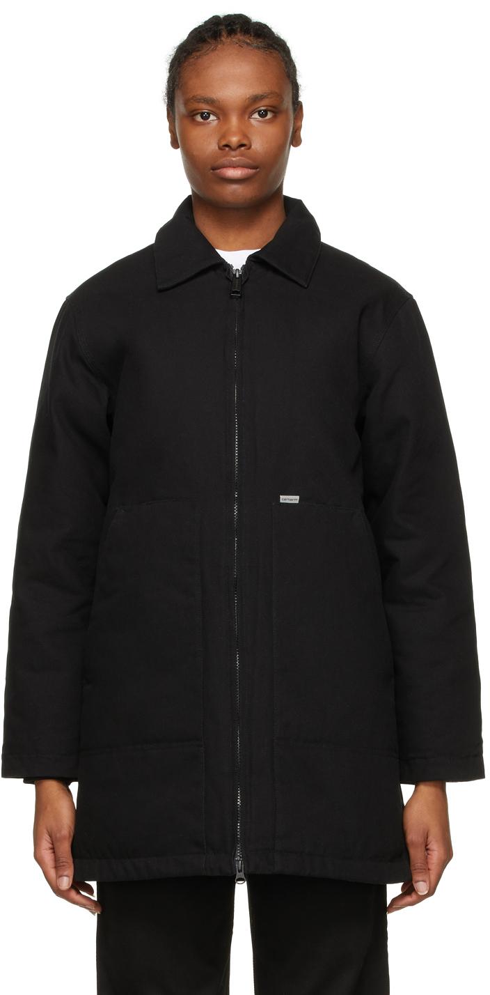 Black Brooke Coat