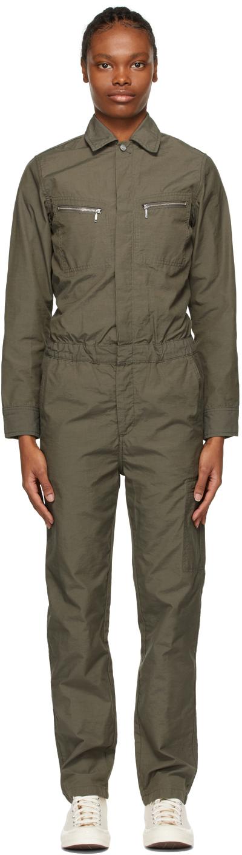 Khaki Boiler Jumpsuit