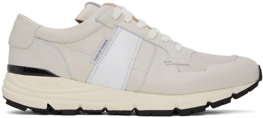 White Saarinen Low Sneakers   SSENSE