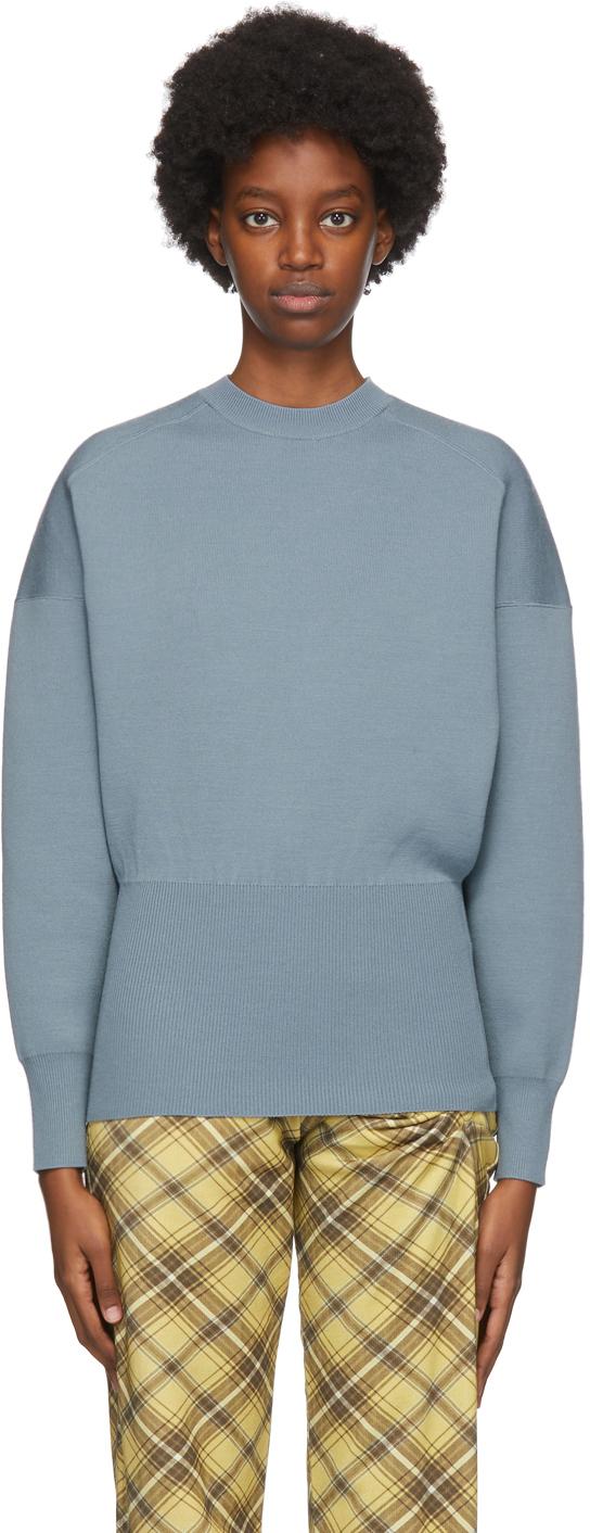 Acne Studios Blue Wool Sweater 202129F096032