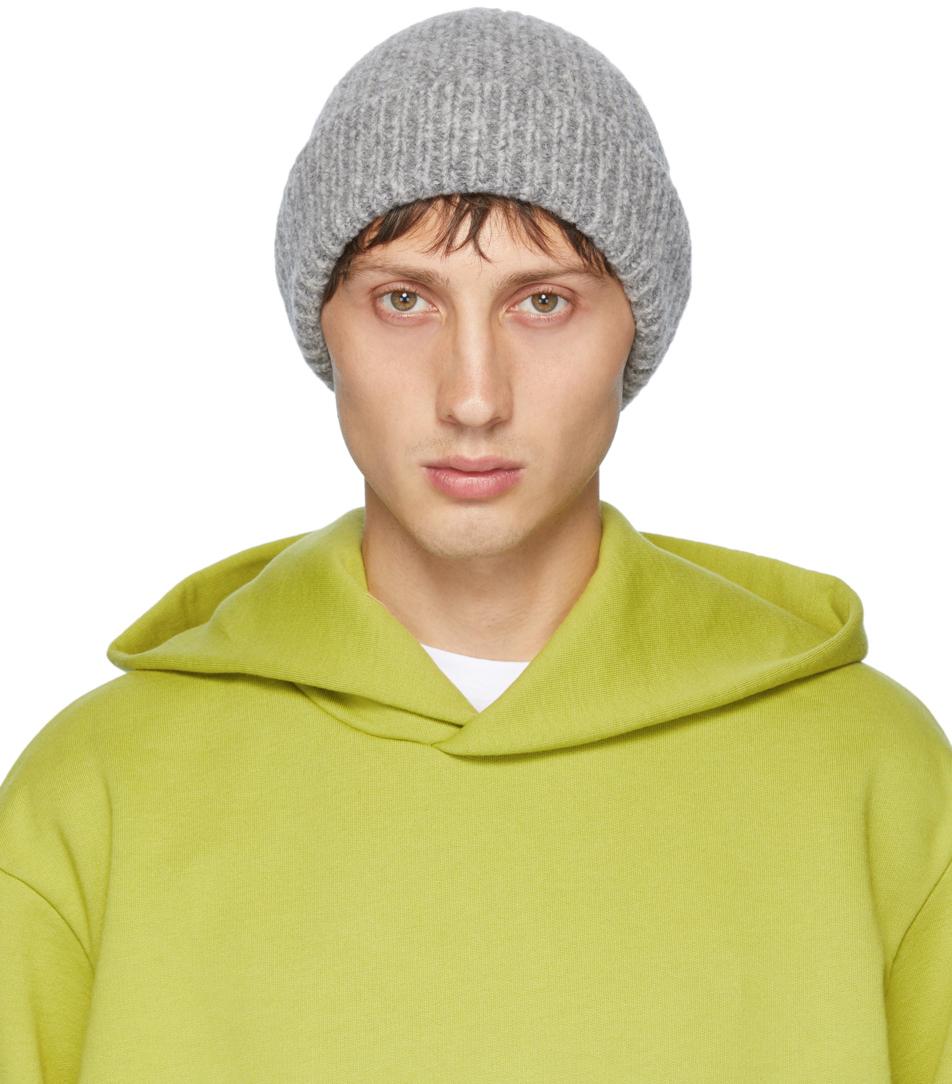 Acne Studios 灰色夹色毛线帽