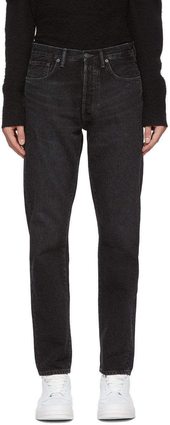 Acne Studios Black 1996 Jeans 202129M186072