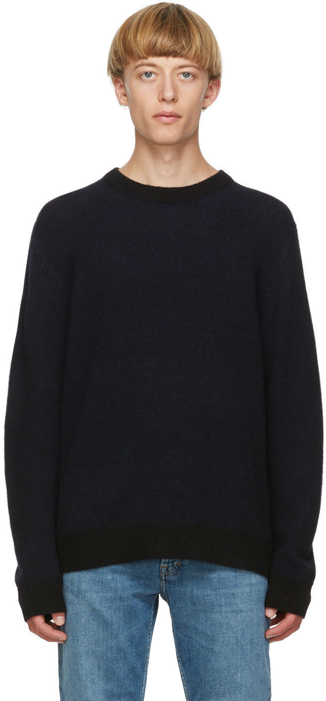 Acne Studios Black Cashmere Sweater 202129M201044