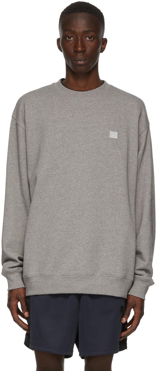 Acne Studios Grey Oversized Sweatshirt 202129M204019