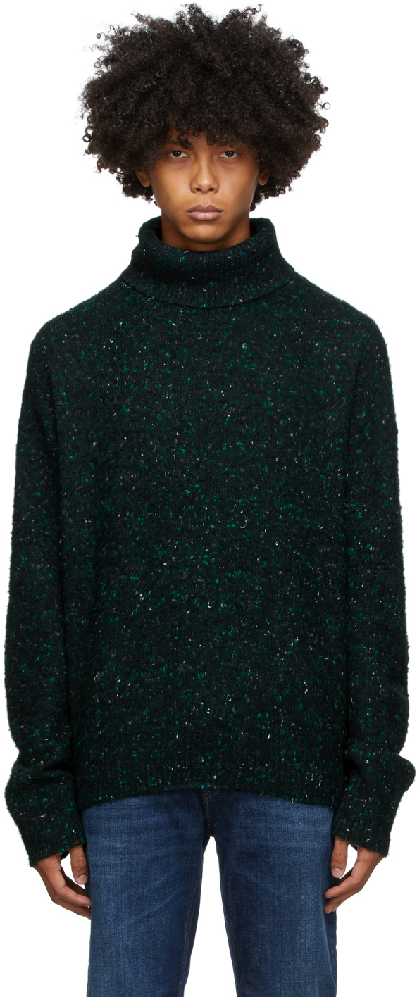 Green Flecked Turtleneck