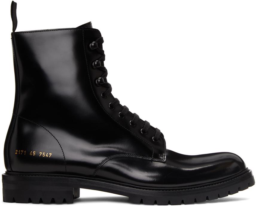 Black Standard Combat Boots