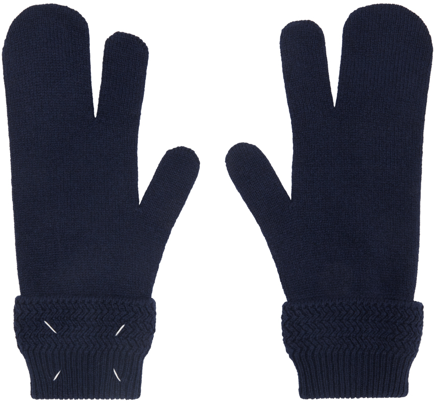 Navy Tabi Gloves