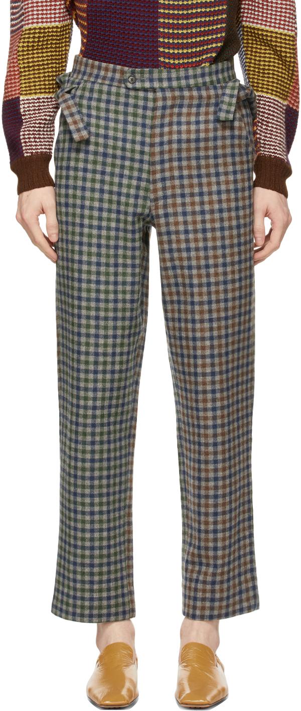 Multicolor Duotone Scot Trousers