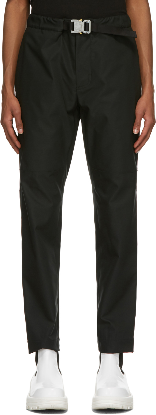 6 Moncler 1017 Alyx 9SM Black Buckle Trousers
