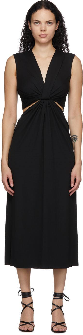 Black Twist Dress