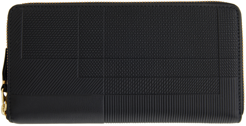 Black Intersection Continental Wallet