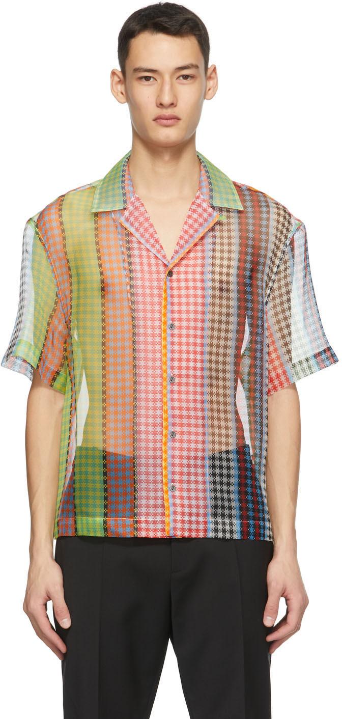 Multicolor Organza Market Bag Shirt