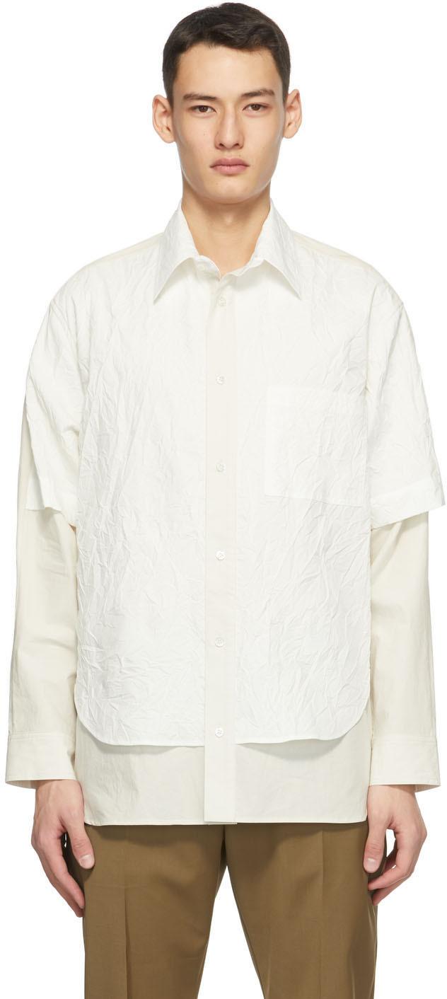 Off-White Crinkle Duncan Shirt