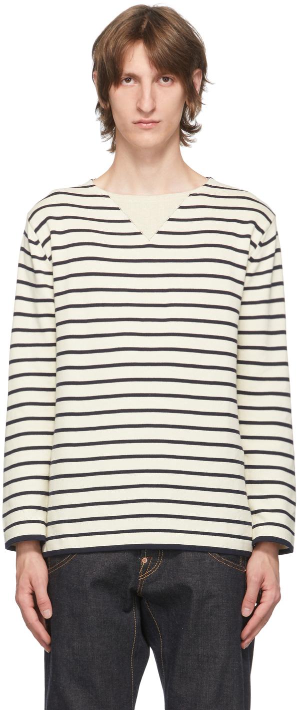Off-White Horizontal Stripe Sweater