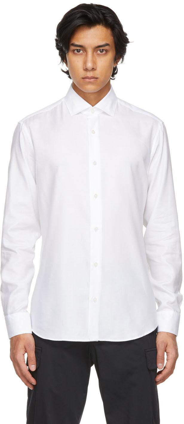 Z Zegna ホワイト シャツ