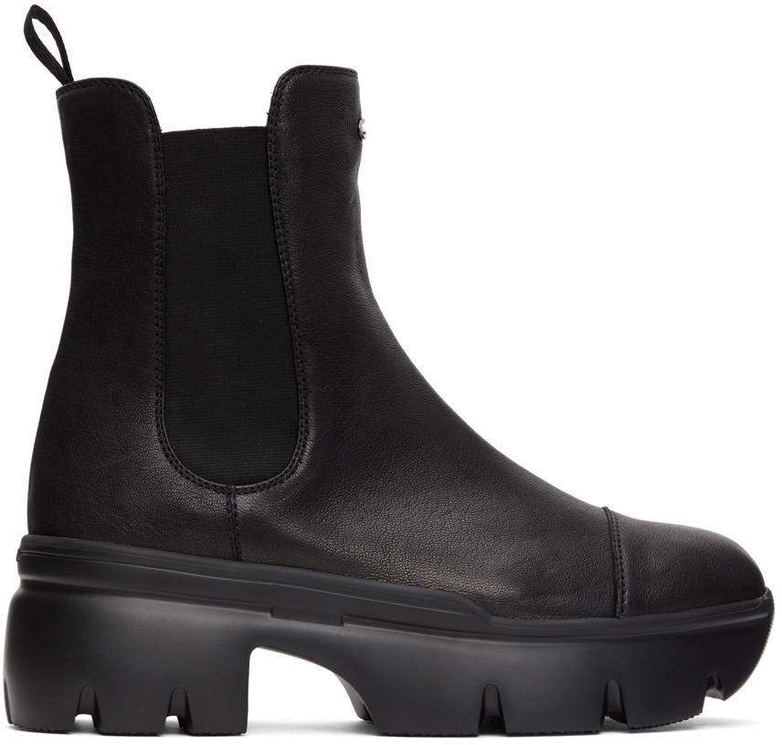 Giuseppe Zanotti 黑色 Apocalypse 切尔西靴