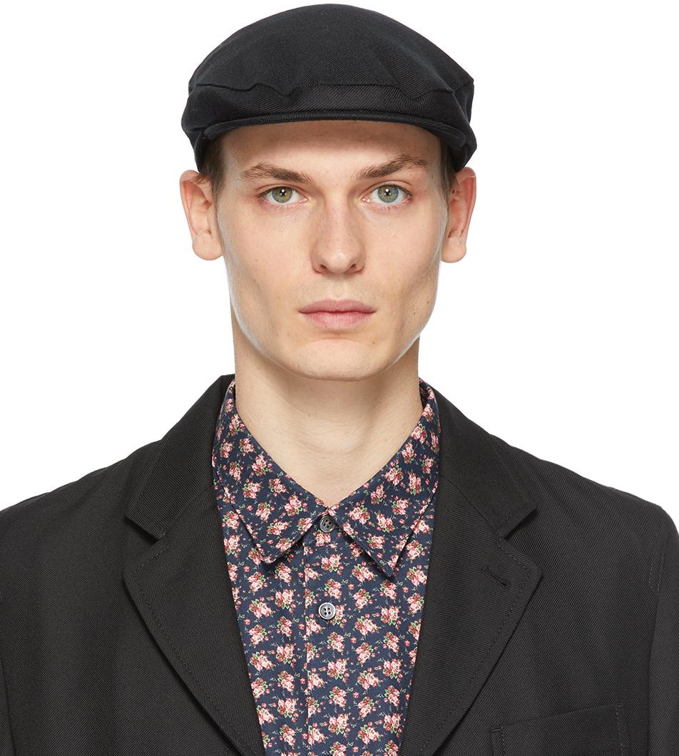 Comme des Garçons Shirt 黑色 Lochcarron 联名羊毛报童帽
