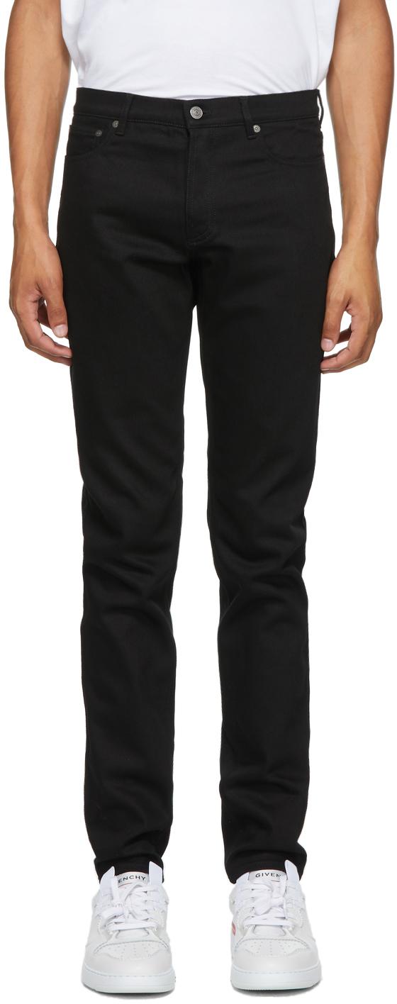 Givenchy 黑色紧身牛仔裤