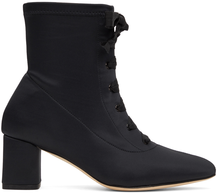 Repetto 黑色 Piera 踝靴