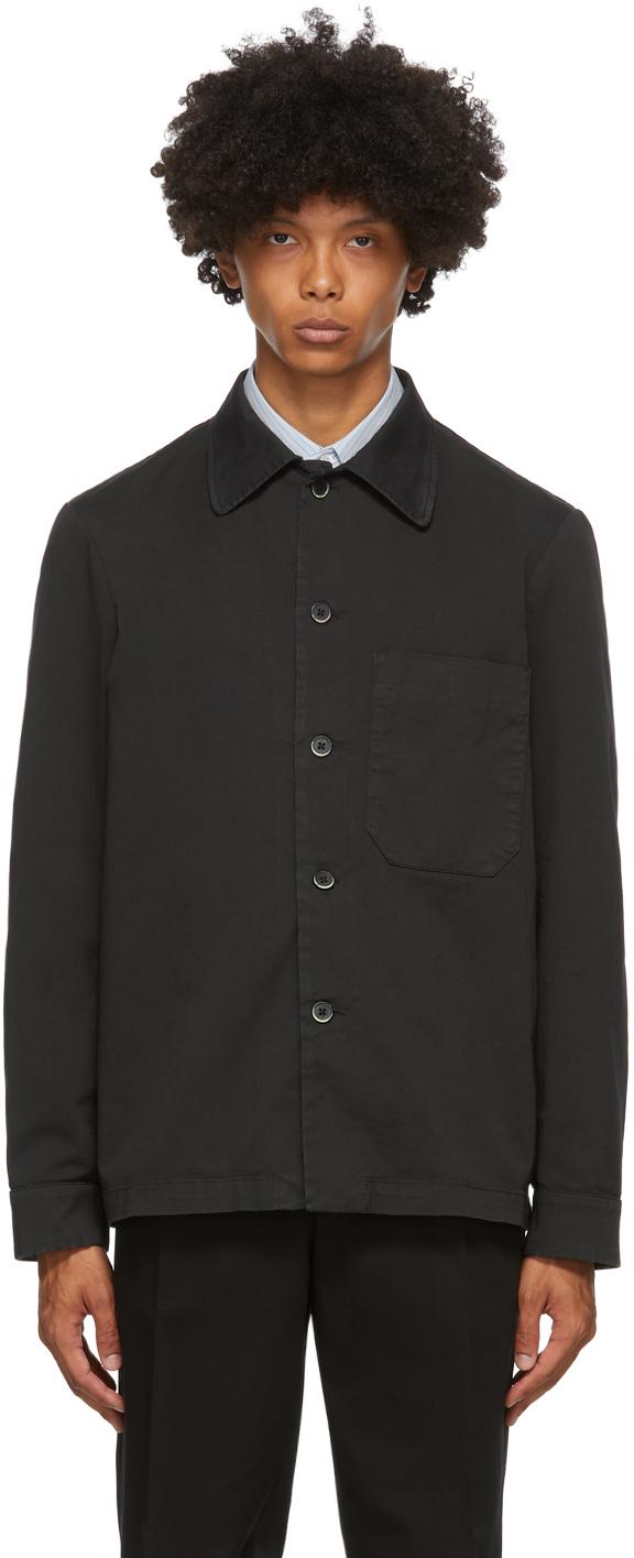 Black Cedrone Overshirt
