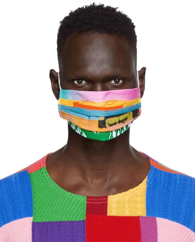 AGR SSENSE 独家发售多色拼布口罩