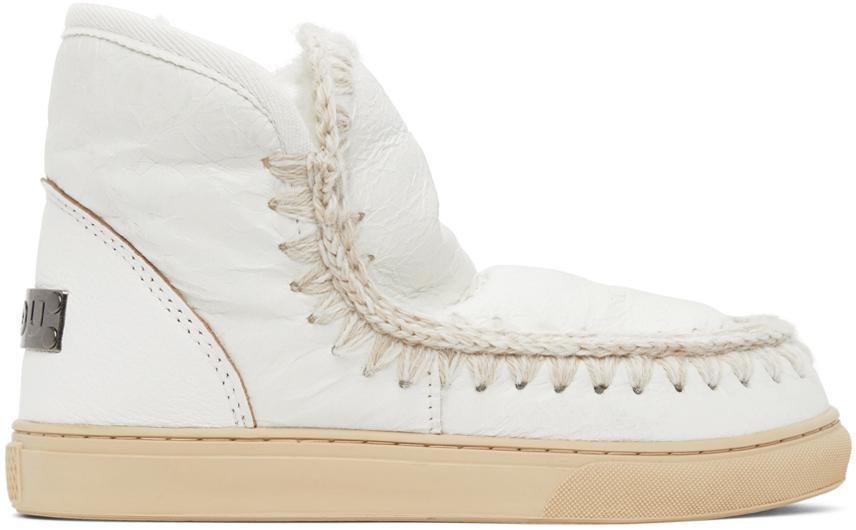 mou 白色 Sneaker 踝靴