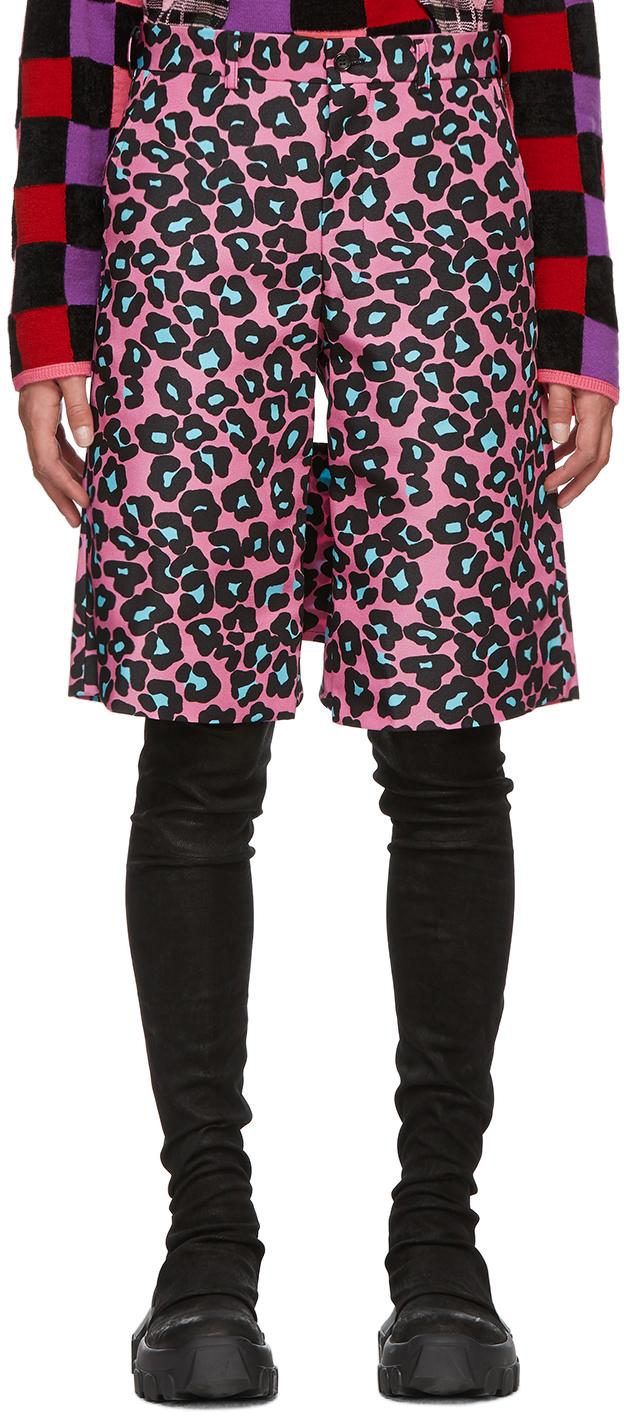 Pink Animal Shorts