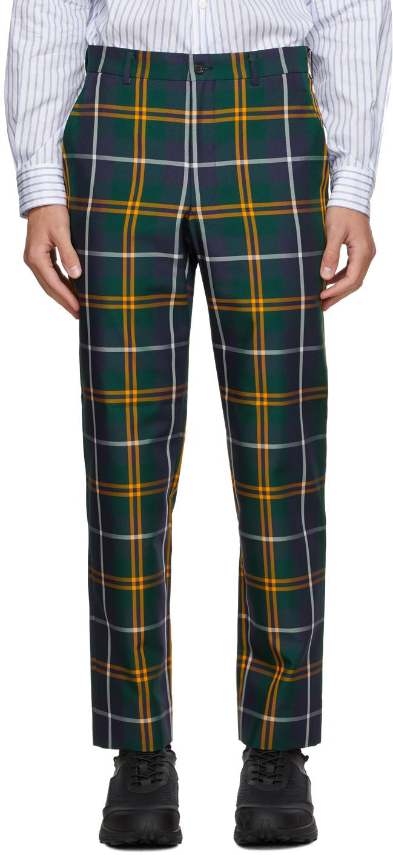 Multicolor Tartan Trousers