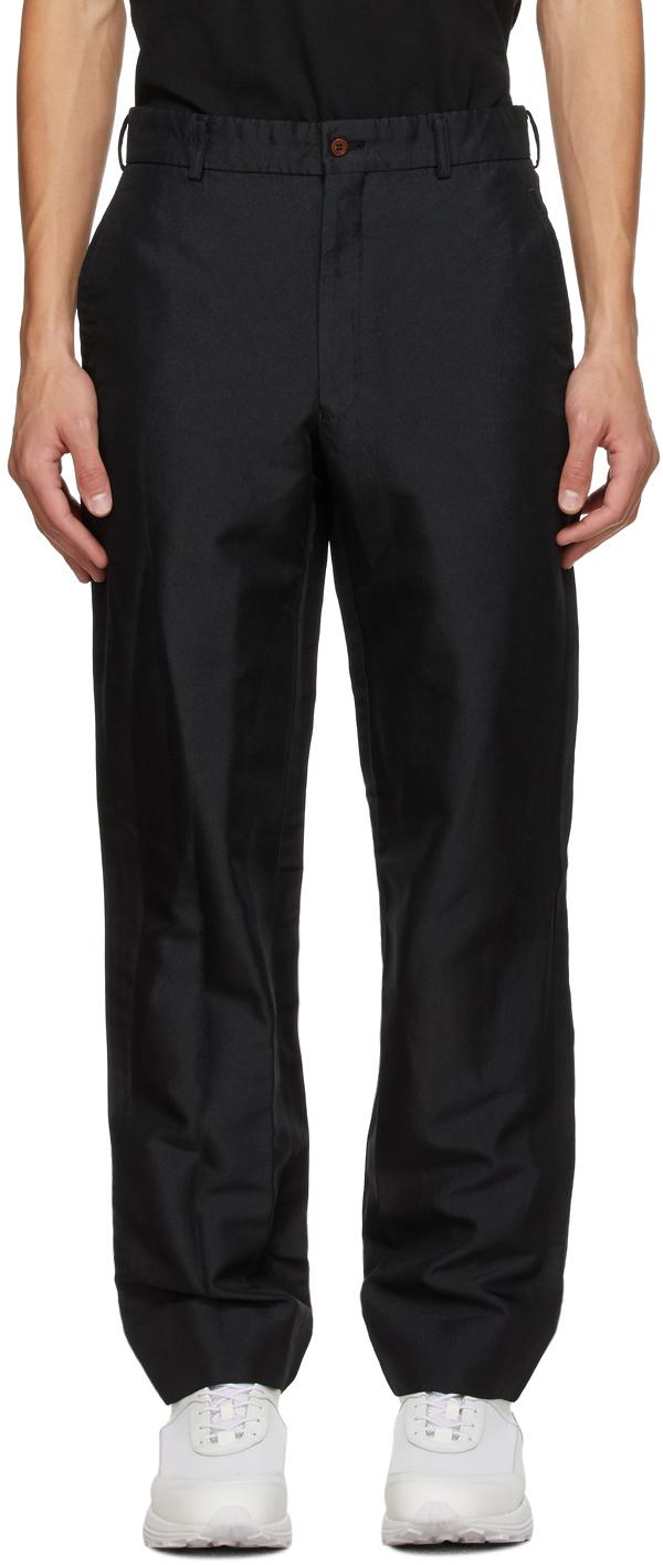 Black Twill Trousers