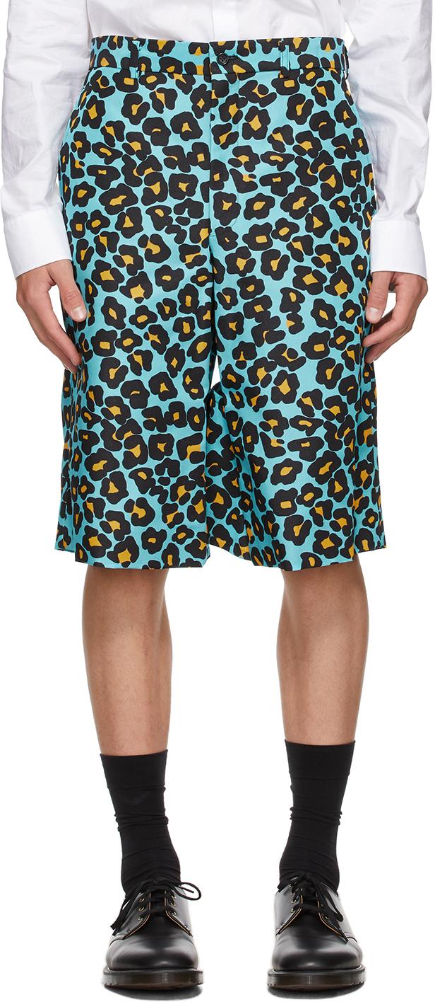 Blue Animal Shorts