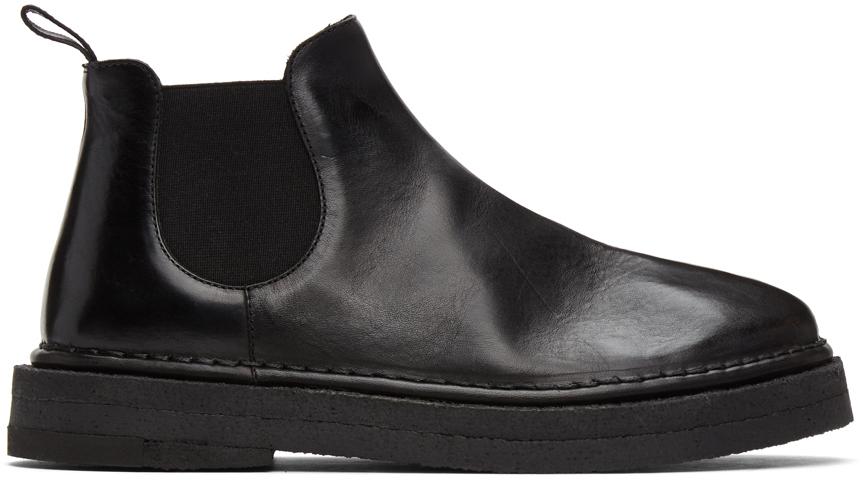 Marsèll 黑色 Gomme Parapa Anfibio 踝靴