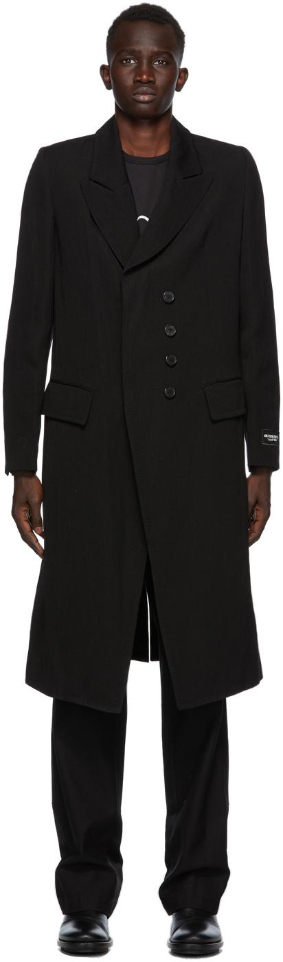 SSENSE Exclusive Black God of Wild Simplistic Coat
