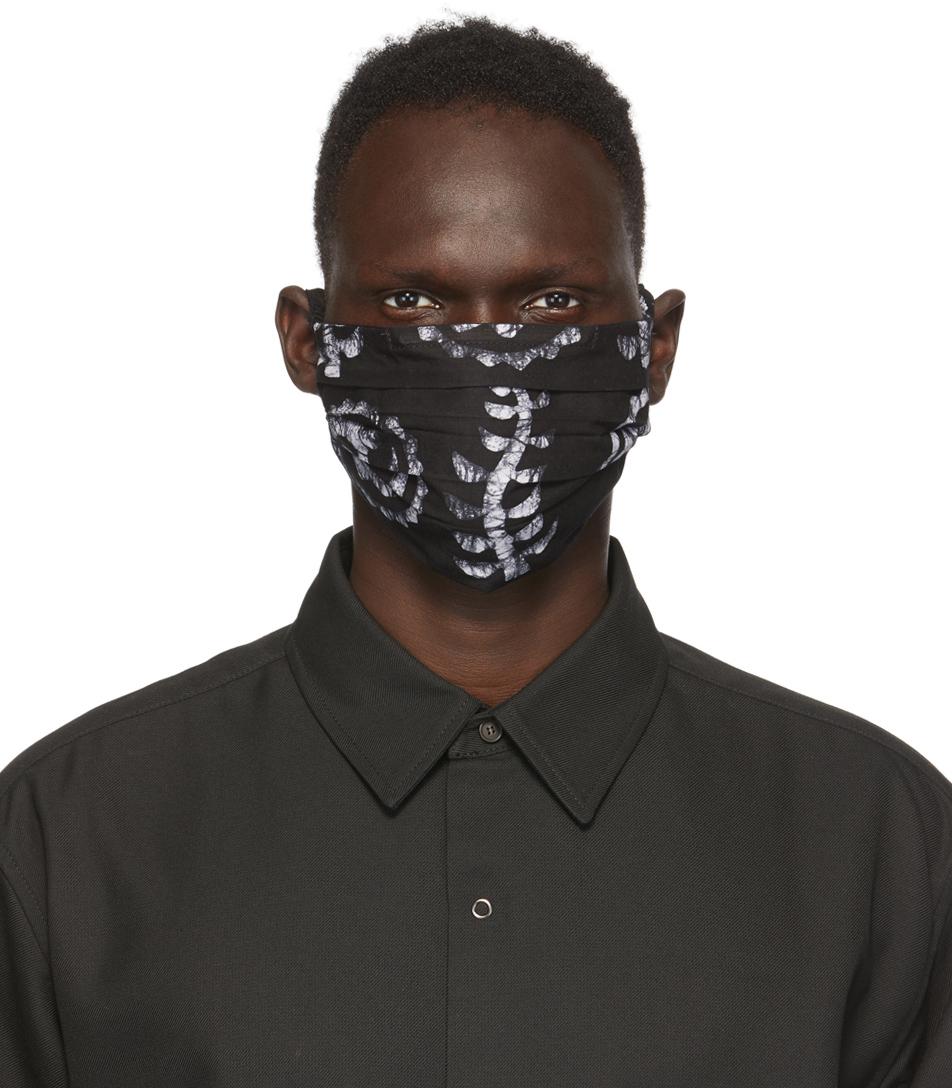 Eastwood Danso 黑色图案口罩