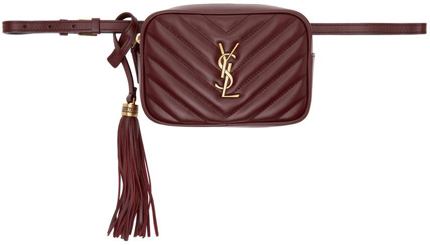 Burgundy Lou Belt Bag