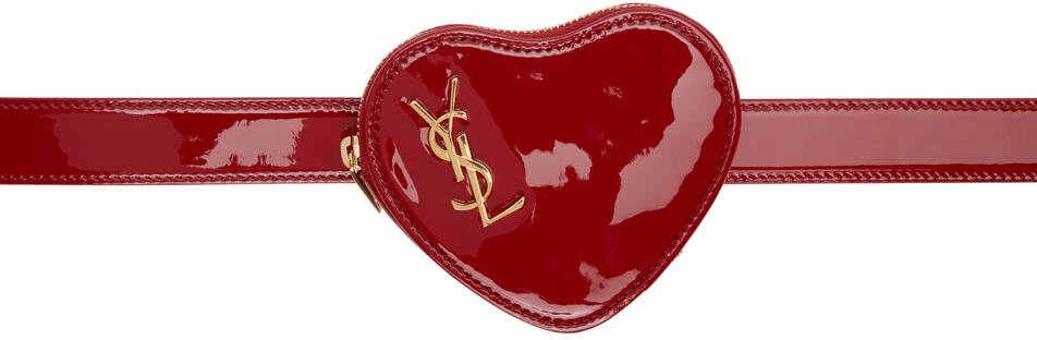 Red Heart Logo Belt Bag