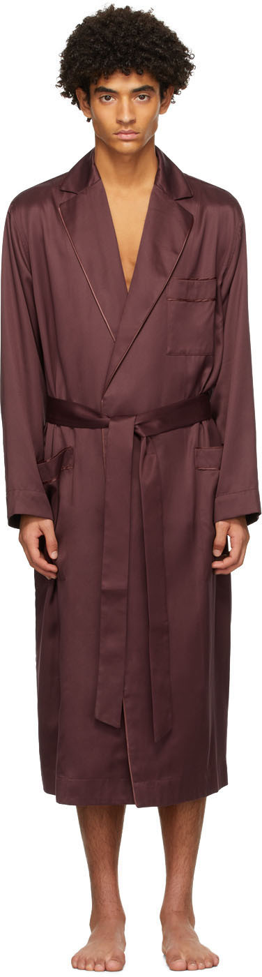 Burgundy Home Robe