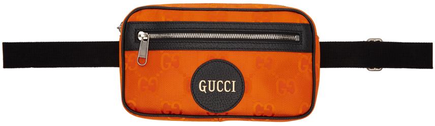 Orange Off The Grid Belt Bag