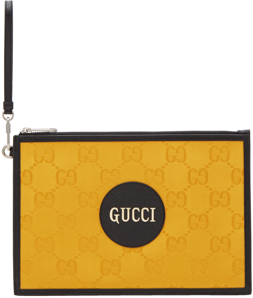 Yellow Off The Grid Pouch