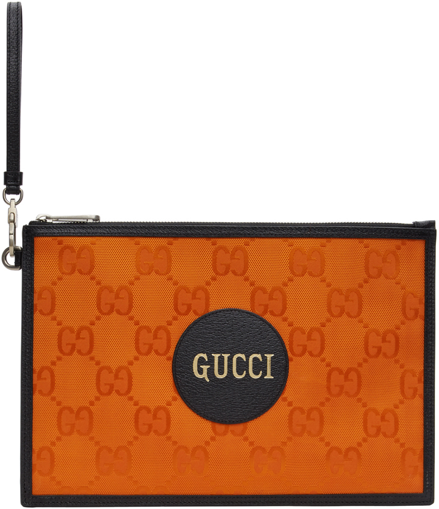 Orange Off The Grid Pouch