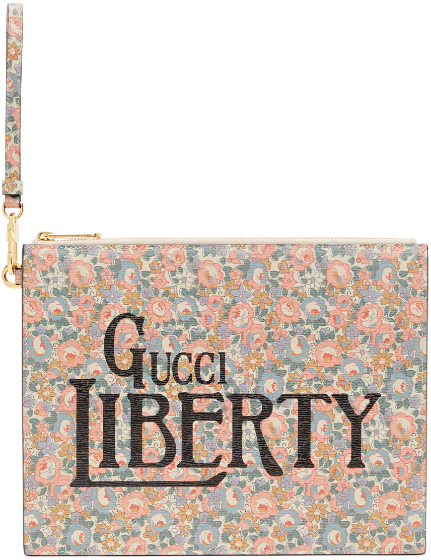 Multicolor Liberty London Edition Shang Abbey Pouch